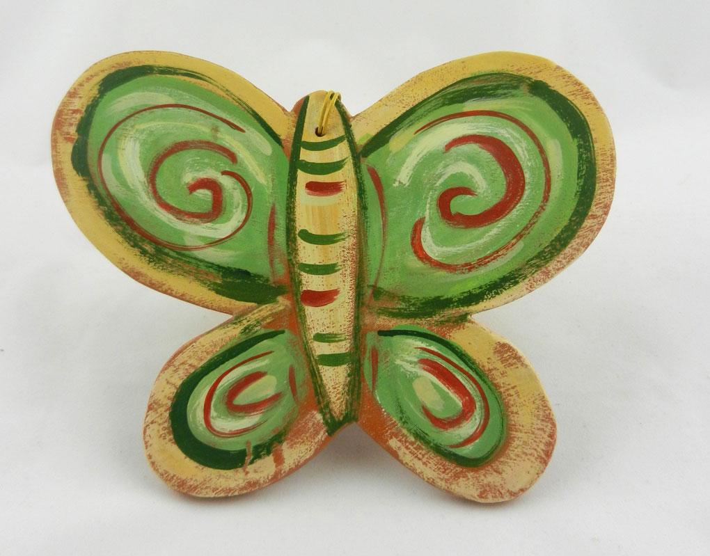 κρεμαστή κεραμική πεταλούδα