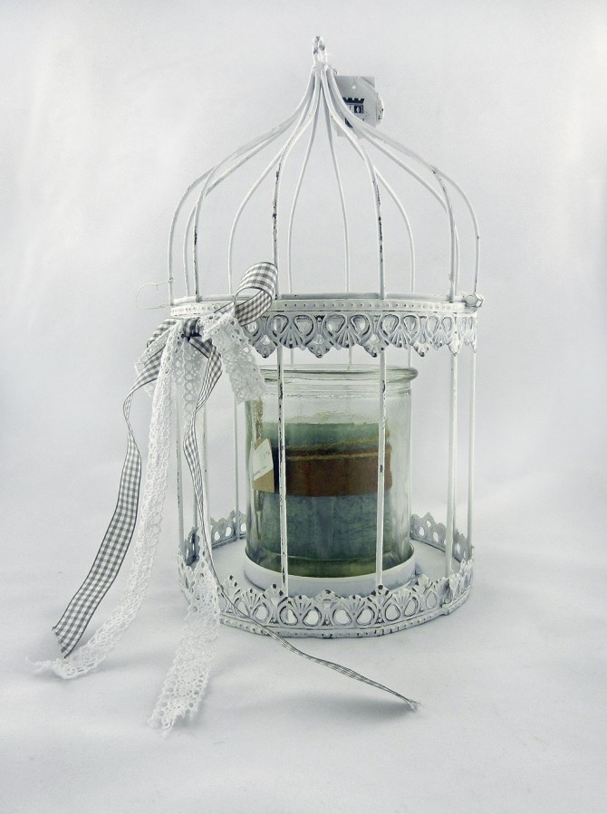 Ένα κλουβί, δεκάδες ιδέες για διακόσμηση