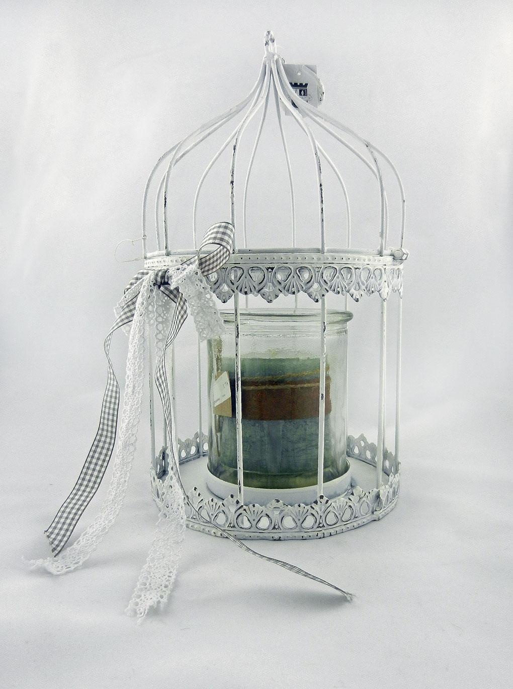 Ιδέες για να διακοσμήσεις με μεταλλικά κλουβιά