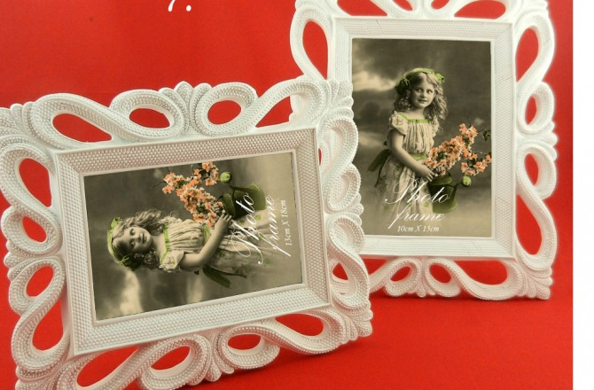 vintage resin photo frames