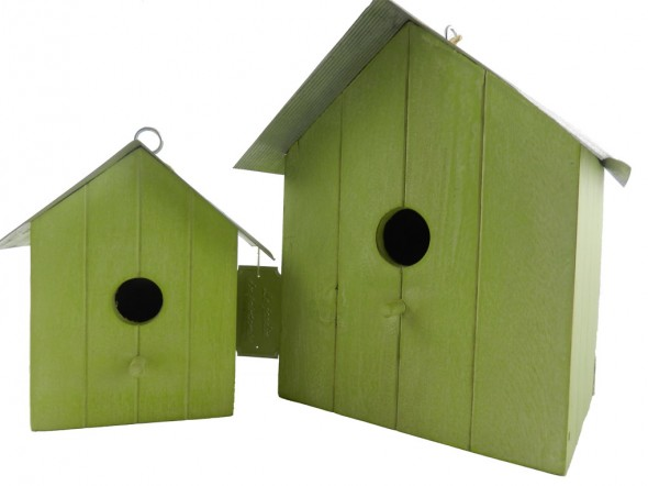 Ξύλινα bird houses