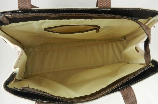 εσωτερικό γυναικείας τσάντας