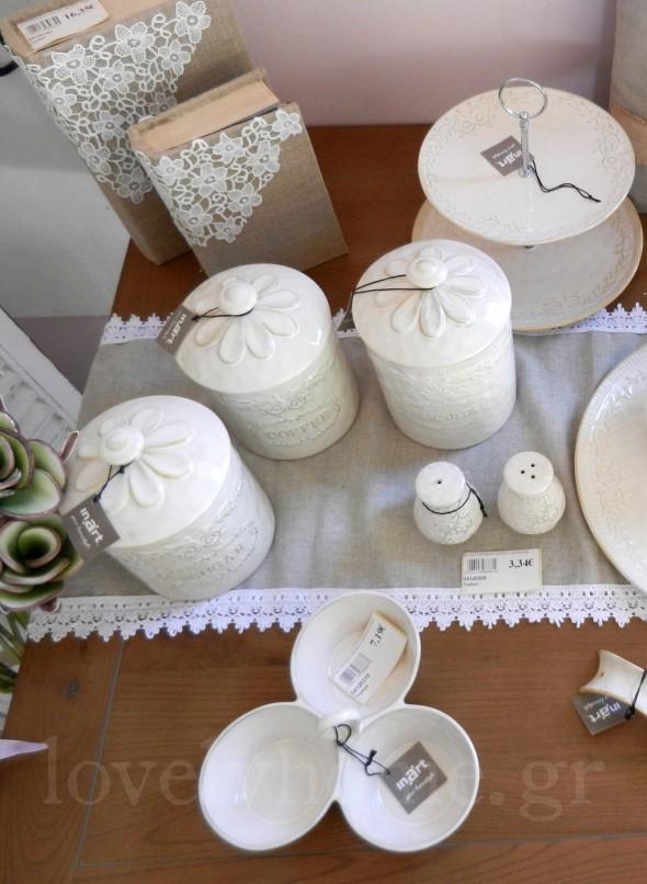 Πορσελάνινα αντικείμενα για την κουζίνα