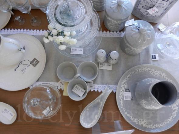 Αντικείμενα από πορσελάνη