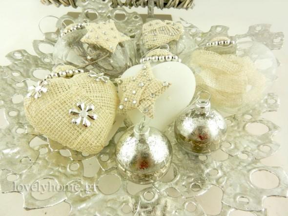 Χριστουγεννιάτικα διακοσμητικά και στολίδια για την art de la table των γιορτών