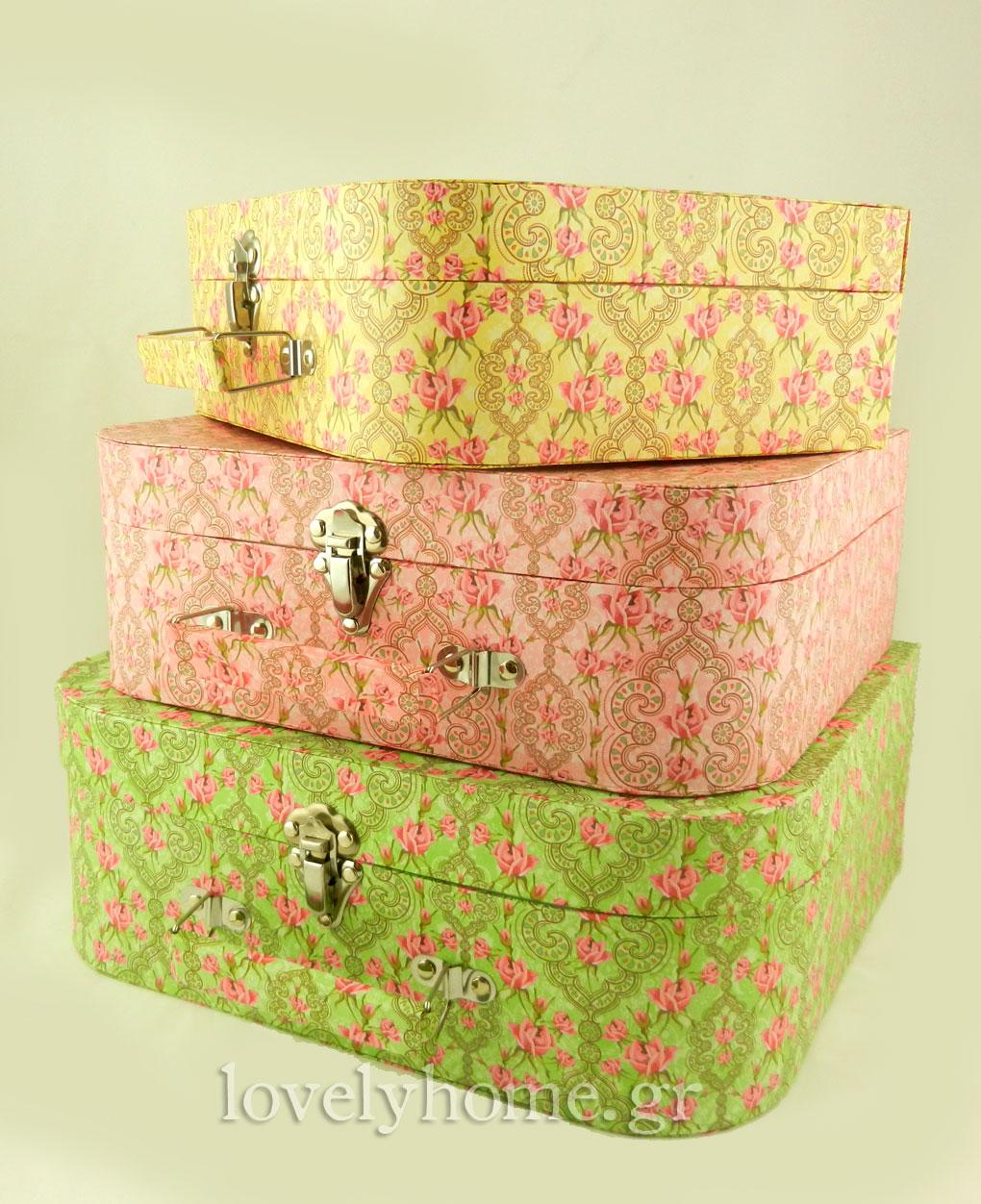 Set vintage βαλίτσες