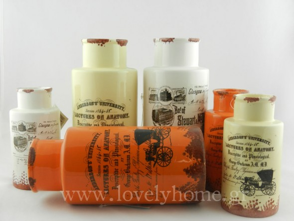 Vintage κεραμικά βάζα.