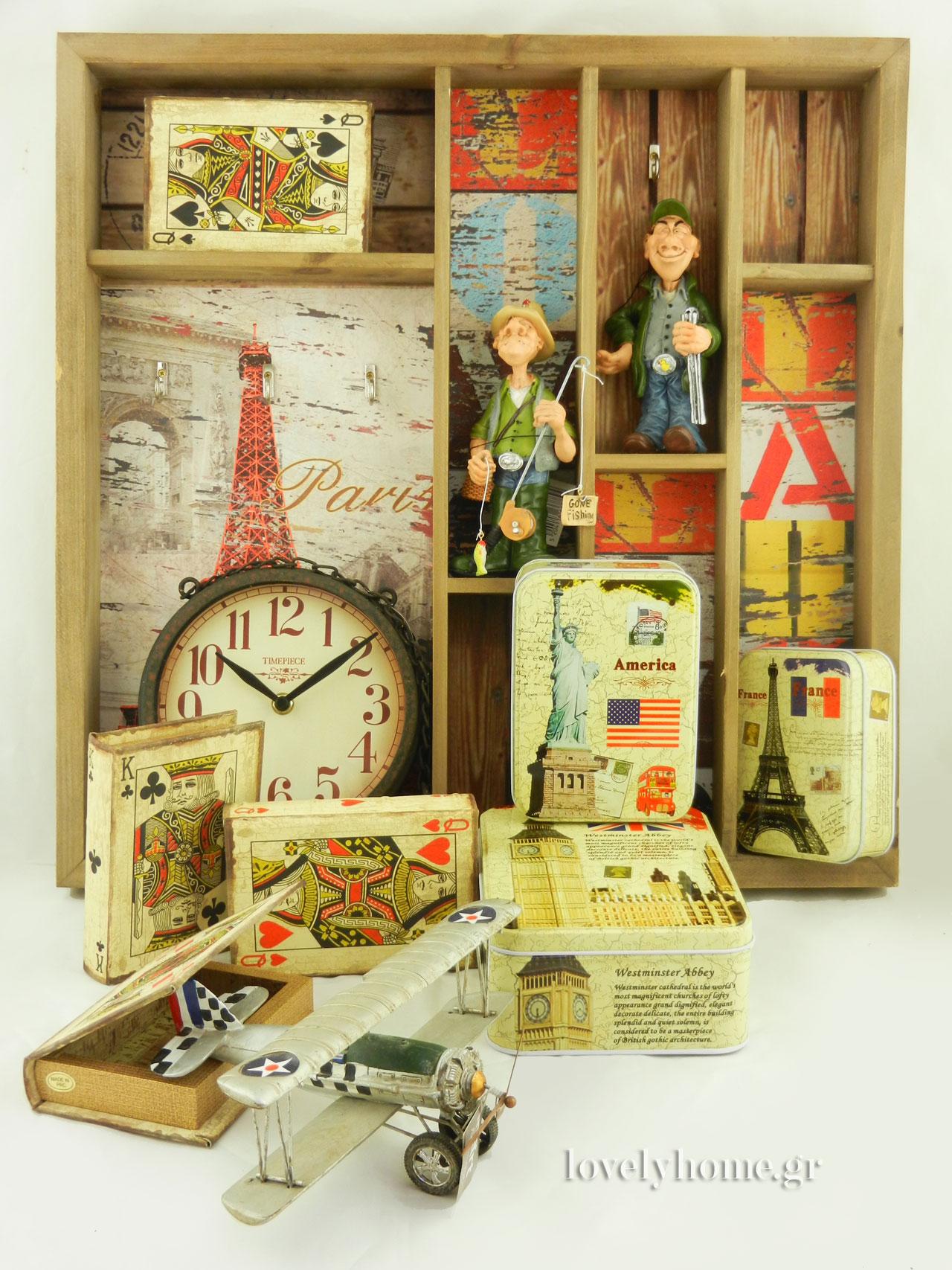 προτάσεις δώρων με ξύλινα αντικείμενα μινιατούρες κ.α.