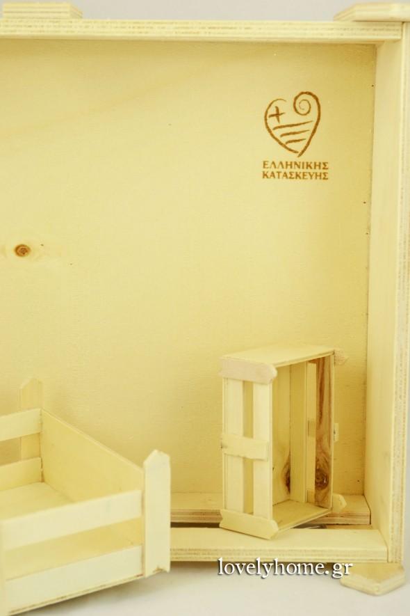 Ξύλινα καφάσια και ξυλόκουτα ελληνικής κατασκευής