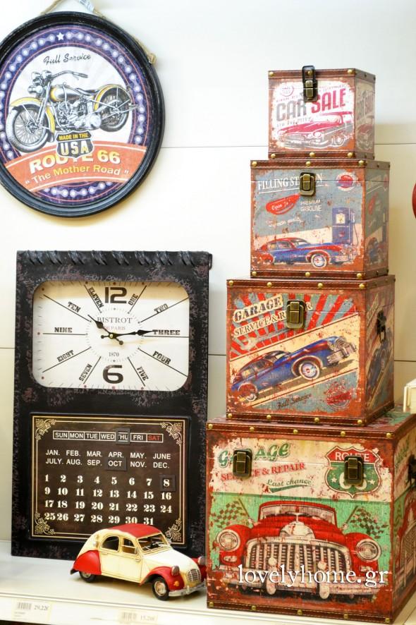 Αντικείμενα για να διακοσμήσεις σε στυλ βιομηχανικό