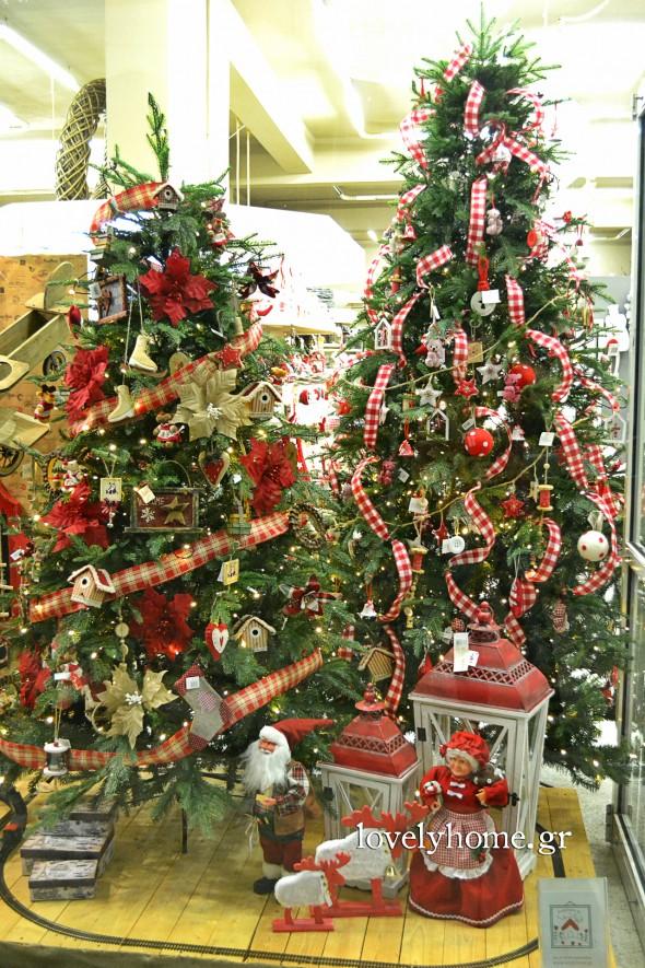 Χριστουγεννιάτικα δέντρα σαν αληθινά και υπέροχα στολίδια για να δημιουργήσεις μοναδικά concepts