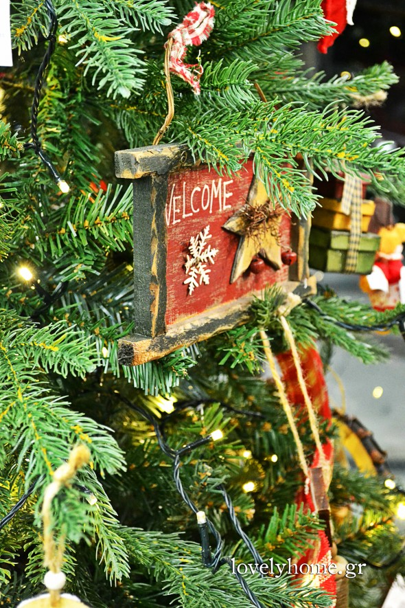 Στολίδια για το χριστουγεννιάτικο δέντρο