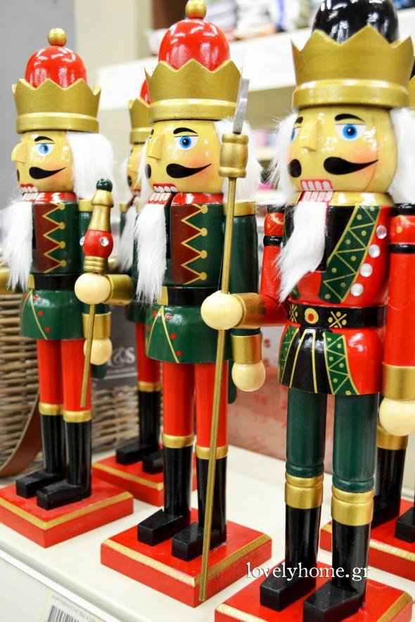 Στρατιωτάκια για τη χριστουγεννιάτικη διακόσμηση