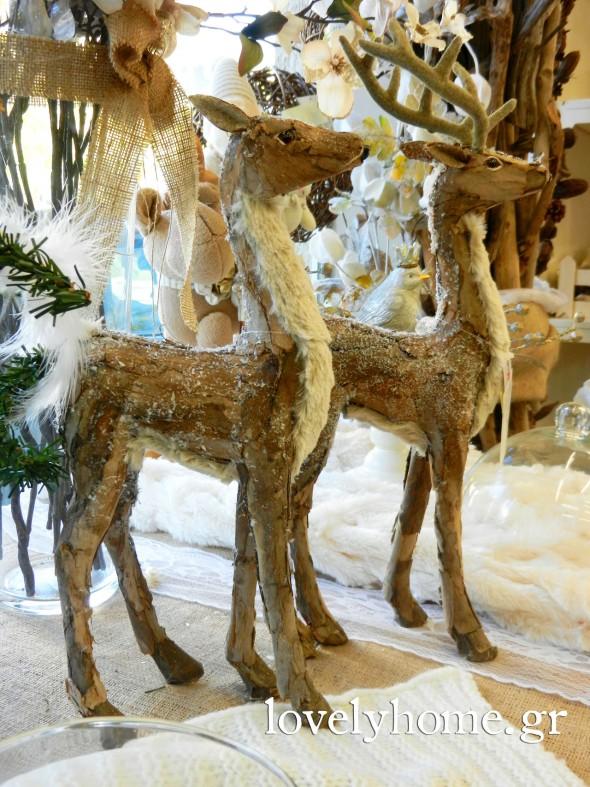 Διακοσμητικά από φλούδα ξύλου και πολλά ακόμα αντικείμενα για διακοσμήσετε τον χώρο σας και να χαρίσετε στους φίλους σας ως χριστουγεννιάτικο δώρο