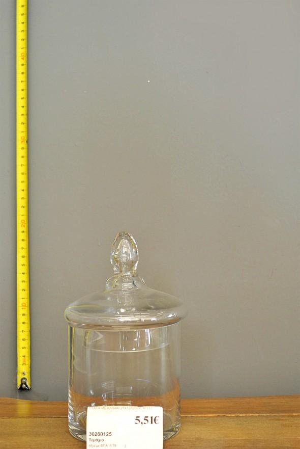 Γυάλα με καπάκι διαστάσεων 21x12x20εκ. Κωδ:30260125 Τιμή χωρίς ΦΠΑ 5,51 ευρώ