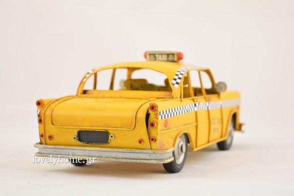 Παλιό κίτρινο taxi της Νέας Υόρκης Κωδ:04105946