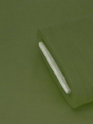 Γάζα βαμβακερή πράσινο σκούρο (λαδί)