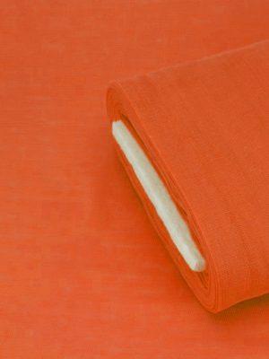 Γάζα βαμβακερή σκούρο πορτοκαλί