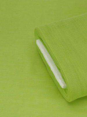 Γάζα βαμβακερή πράσινο παπαγαλί