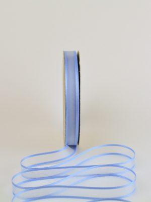 κορδέλα organza 15 mm σε γαλάζιο χρώμα
