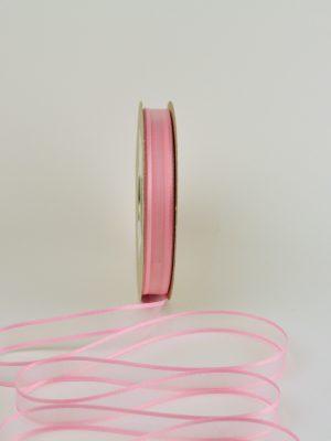 ροζ κορδέλα organza 15 mm