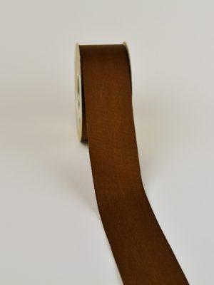 κορδέλα γκρο 40 mm καφέ