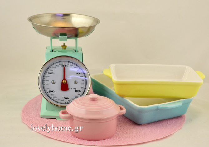Παστέλ χρώματα στην κουζίνα