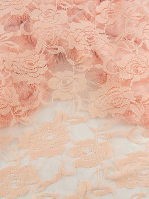22500311 dantela triantafilla somon lace roses salmon