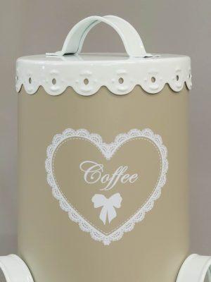 Μεταλλικά κουτιά καφέ-ζάχαρη-τσάι vintage Κωδ: 04106596