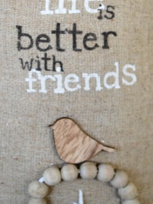 Στοπ πόρτας Life is better with Friends