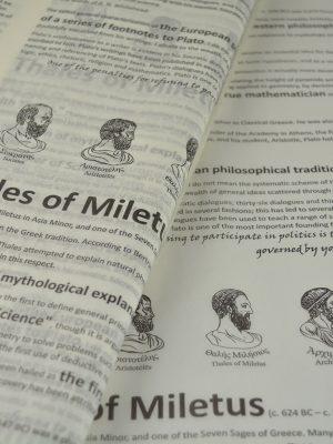 Tissue Paper Greek Philosophers