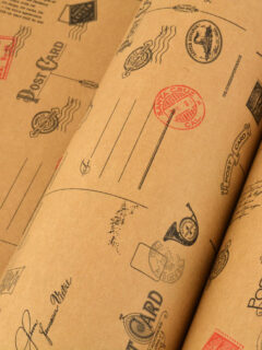 Wrapping-Paper-Kraft-PostCard