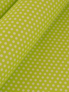 Wrapping-Paper-green-dots-