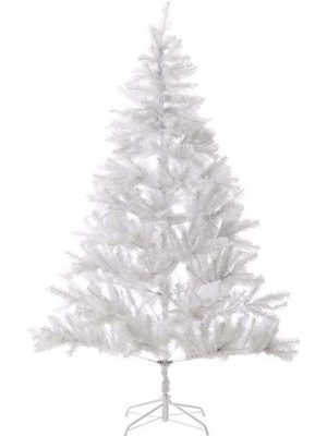 christmash white tree