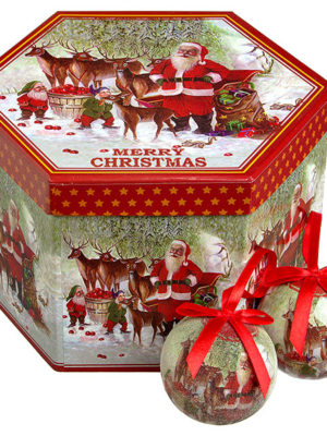 cristmash balls santa claus
