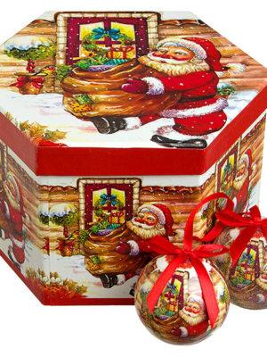 christmash balls classic santa claus