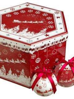 christmah balls sleigh