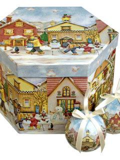 christmash balls village
