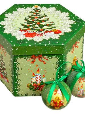 Christmash balls tree