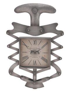 Ρολόι Τοίχου Μεταλλικό Ανοιχτήρι Ασημί in art