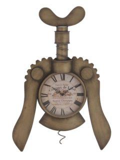 Ρολόι Τοίχου Μεταλλικό Ανοιχτήρι in art
