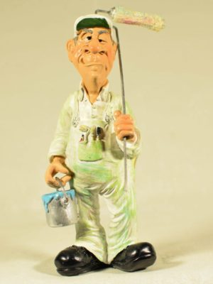 miniature paintman