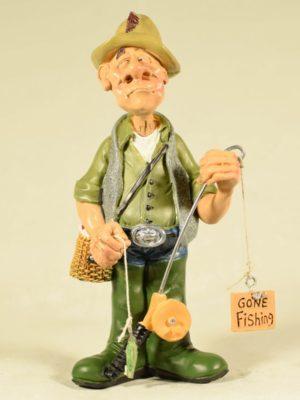 miniature fisherman
