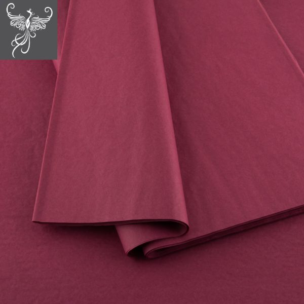 Tissue Paper Bordeaux